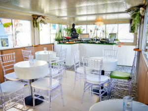 inside view of yacht