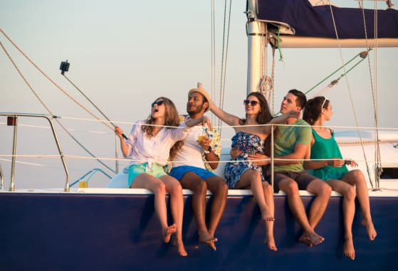 Throwing a Springtime Yacht Party with Friends