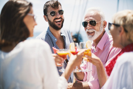How to Party with Your Coworkers in a Yacht
